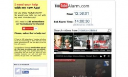 YouTubeAlarm: usa vídeos de YouTube como alarma o despertador
