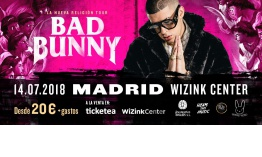 Bad Bunny enloquecerá al WiZink Center de Madrid el 14 de julio