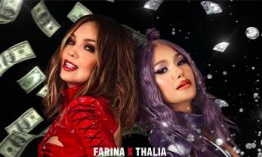 "Thalía y Farina estrenan su sencillo y video ""Ten Cuidao"""